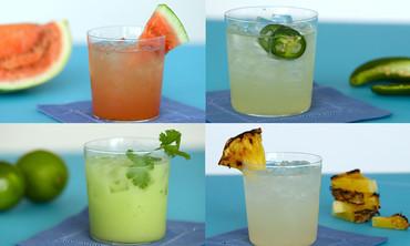 Margaritas 4 Ways