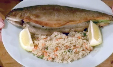 Pan Sauteed Trout