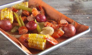 Shrimp-Sausage Boil