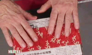 Newspaper Giftwrap