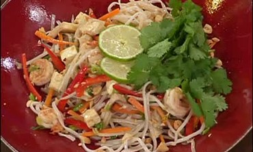 Pad Thai with Lime