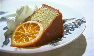 Pound Cake Garnish