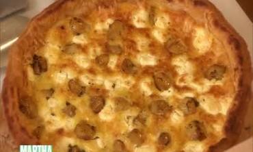 Savory Garlic Tart