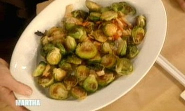 Spicy Brussels Sprouts