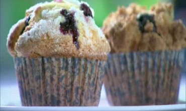 Martha's Favorite Blueberry Muffins
