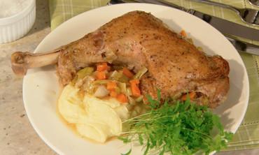 Braised Turkey Legs