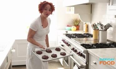 Flourless Double-Chocolate Pecan Cookies