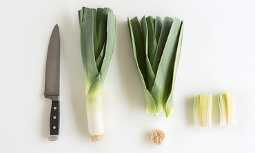 How to Split a Leek