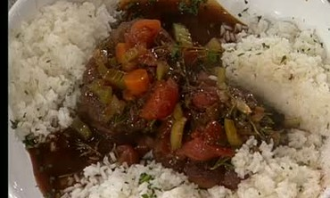 Osso Buco with Rice