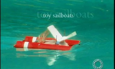 Toy Sailboat How-to