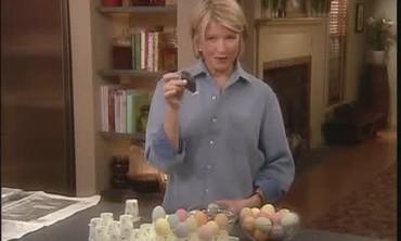 Using an Egg Blower