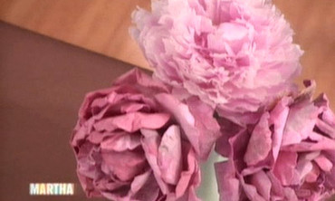 Video paper peonies pt 3 martha stewart now playing mightylinksfo