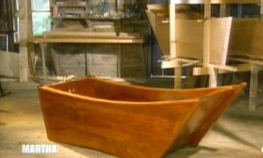 Mahogany Bathtub