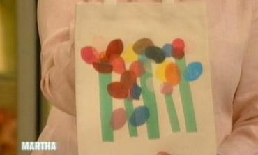 Kids Art Tote