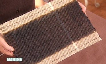 Bleached Bamboo Place Mats