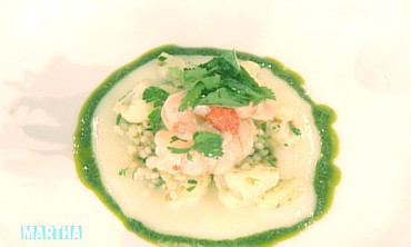 Butter-Poached Prawns