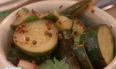 Cucumber and Radish Pickles