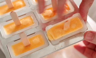Creamy Orange Pops