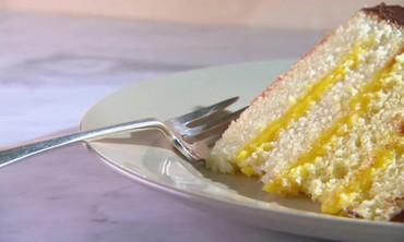Vanilla Birthday Cake with Chocolate Frosting Recipe