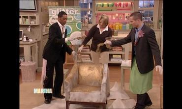 Glittering a Chair