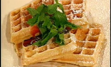 How to Plate Waffles