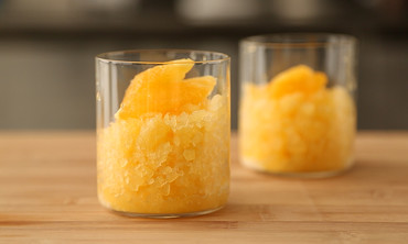 Maple Orange Granita