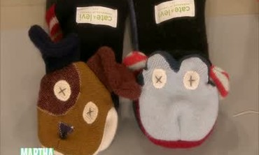 Sweater Hand Puppets
