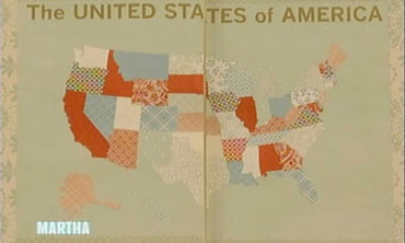 U.S. Map Scrapbook