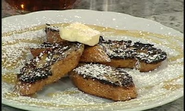 Vanilla Sugar French Toast