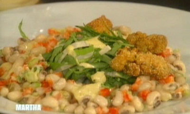 Cornmeal-Crusted Oysters