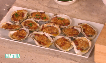 Bacon-Stuffed Oysters