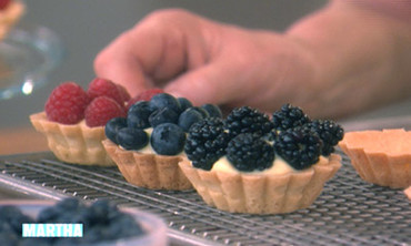 Berry & Cream Tartlets