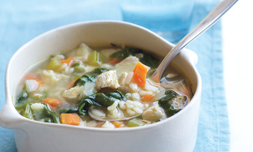 Chicken-Barley Soup