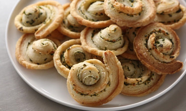 Garlic-Herb Pinwheels
