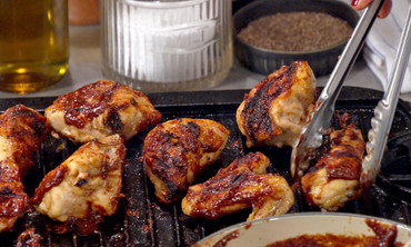 Grilled Figgy Chicken