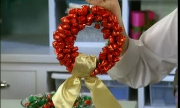 Holiday Candy Wreaths