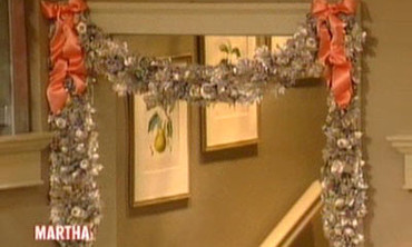 Metallic Swag Garland