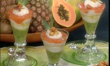 "Tropical ""Fool"" Parfait"