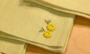 Button Napkins