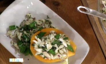 Papaya and Crab Salad