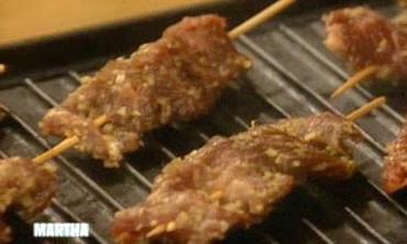 Cooking Beef Skewers