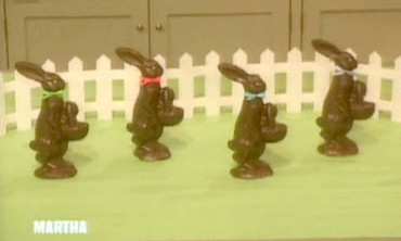 Faux Chocolate Bunnies, 2