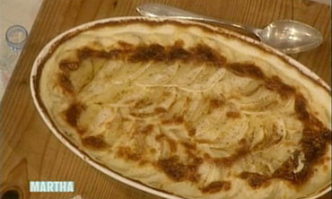 Potato-Turnip Gratin