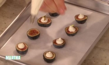 Figs with Mascarpone