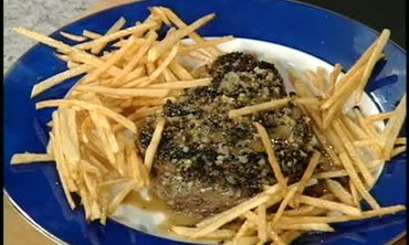 French Steak Au Poivre