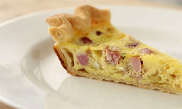 Ham-and-Swiss Quiche