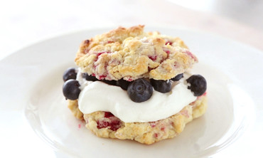 Raspberry Shortcakes
