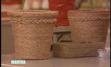 Sisal Rope Flower Pots