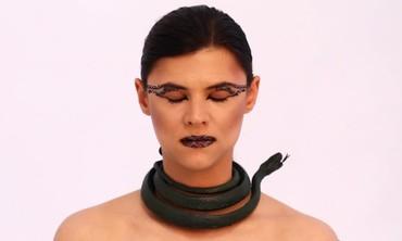 Snake Charmer Makeup