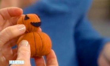 Felt Pumpkin People, 1